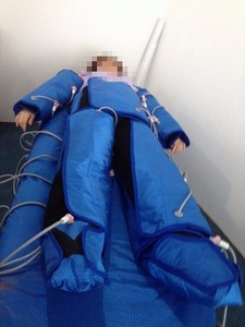 Pressotherapy suit reduce edema or swelling