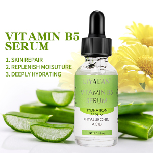 Private Label Anti Aging Vitamin B5 Face Serum with Hyaluronic Acid