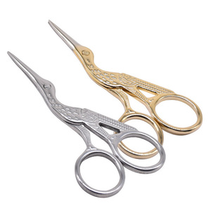 Stainless steel beauty scissors threading scissors Restoring ancient ways cut eyebrow beauty makeup tools