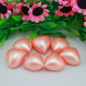 wholesale heart shaped bath oil beads oil capsule with rose scentsheart shape bath beads / pearls----193012