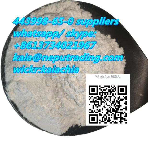 443998-65-0 suppliers kaia@neputrading.com whatsapp:+8613734021967