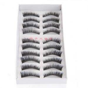 10 Pairs Soft False Eyelash Eyelashes Eye Lashes Makeup Long Thick Brand New