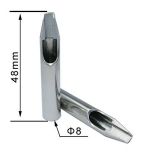 2019 hot sale cheap stainless steel tattoo long tips