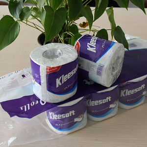 3ply recycled pulp private label toilet paper