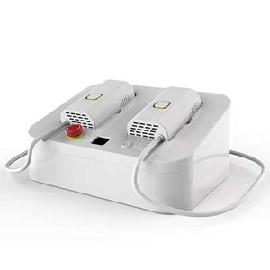 808nm hair removal and skin rejuvenation laser epilator with two handles for home use and beauty salon