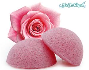 Bebevisa Beauty tool deep cleaning organic face/bath konjac sponge