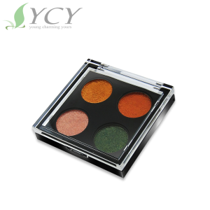 Four colors high-quality custom eyeshadow palette