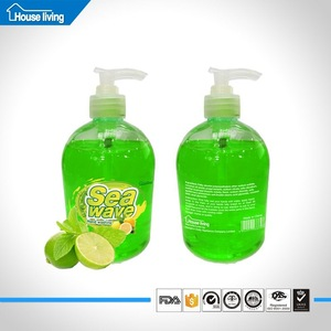 High quality antibacterial clean soft hand soap/manufacturing process liquid hand wash