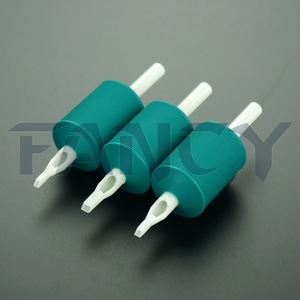 Hot Sale 30mm Sterile Wholesale Disposable Tattoo Grip, Tattoo Tube