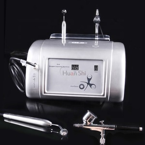 Huanshi 2 In 1 Active Water Hyperbaric Oxygen Injection Facial Spray Jet Peel Cleaning Beauty Machine