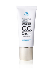 Maricle Marine Pure Collagen White CC Cream SPF50+ PA+++, CC cream, Korean Makeup K-Beauty Korean Cosmetic Beauty  Wholesale