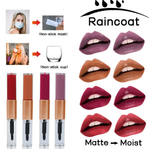 Non Stick Cup Mask Matte Liquid Lipstick Waterproof Lipgloss Private Label Lip Gloss
