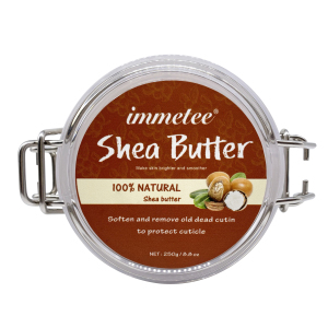 Private Label Wholesale Shea Butter Sugar Body Scrub Whitening Body 283g Bottle