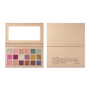 Wholesale  Custom Makeup Pigment Glitter Eyeshadow Palette