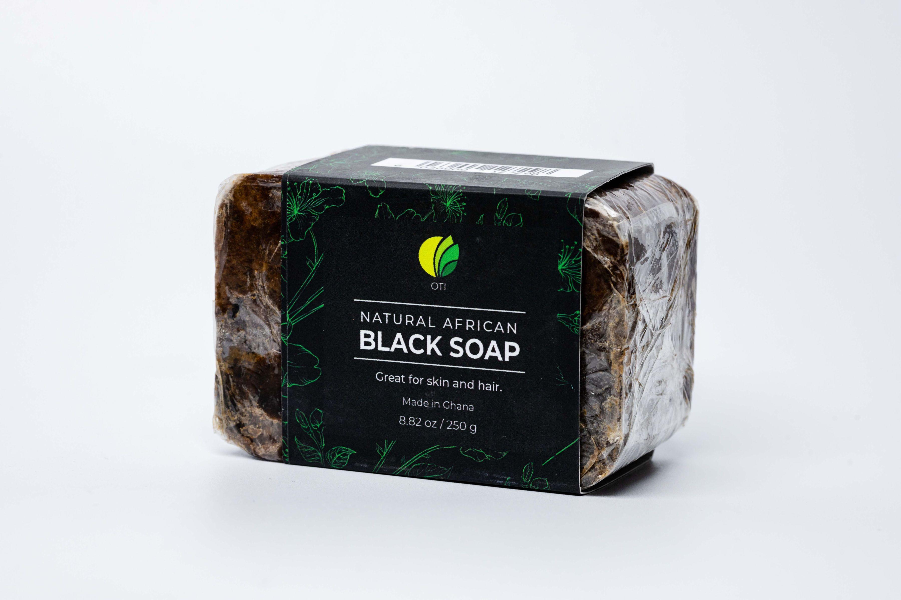 OTI African Black Soap from Ghana (100% Natural)