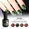RONIKI Laser Magnet Cat Eye Gel Polish,Cat Eye Gel,Laser Cat Eye Gel Polish