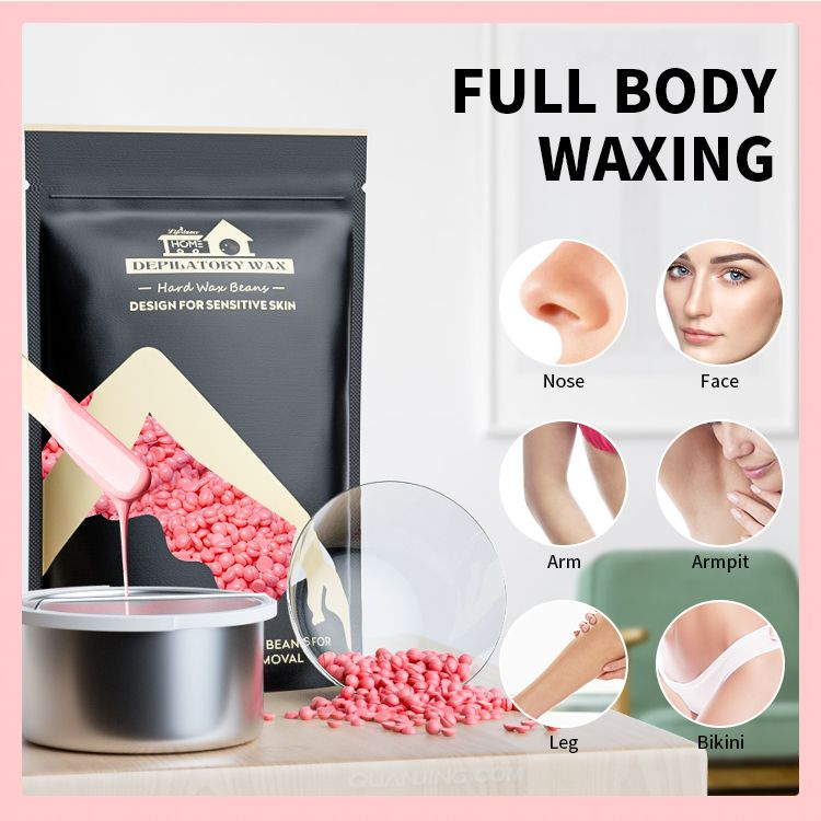 Lifestance 100g All type of skin high quality depilatory hot film wax for hair removal depilatory wax