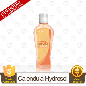 100% Pure and Organic Calendula Hydrosol(Flower Water, Floral Water, Hydrolats)235ml Firming and Calming Skin OEM Supply