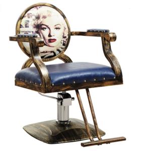 2018 Hot Sale Retro Woman Hair Salon Chair Hairdressing Equipment