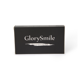 2020 Top Selling Organic Activated Coconut Charcoal Teeth Whitening Strips White Teeth Strips