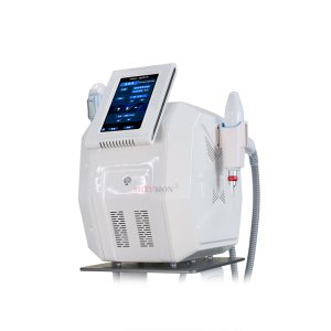 2021 new products 2 In 1 Soprano Ice IPL E-light Q Switched ND Yag Laser Tattoo Removal Portable IPL Hair Removal Machine