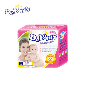 Baby Diapers/Nappies with Cosy Backsheet PP Tape Good Quality in Cheap Price