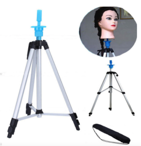 Beiqi wholesale salon equipment for sale camera tripod mannequin stand head doll hairdressing training from beauty hair salon