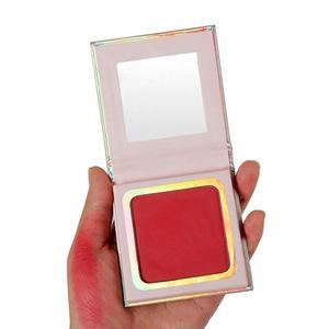 Best Face Makeup 4 Colors Blush Custom Single Blush Palette Private Label Matte Cardboard Blusher Powder