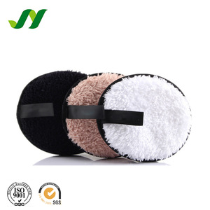 Colorful Microfiber Bamboo Facial Cellulose Make Up Cosmetic Powder Sponge Puff