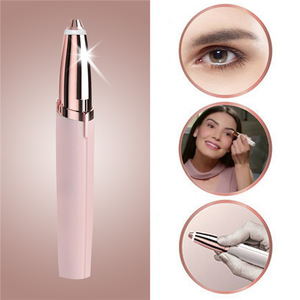 Electric Painless Eyebrow Shaver Brows Hair Remover Shaver Razor