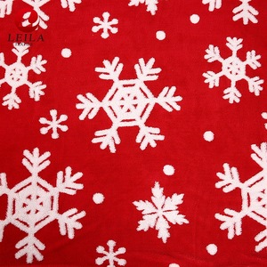 factory direct supply heated good quality christmas fleece blanket