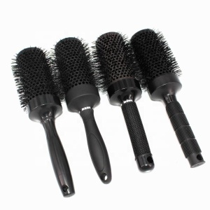 Full color changed thermal hair brushes ionic round brush professional barber shop use