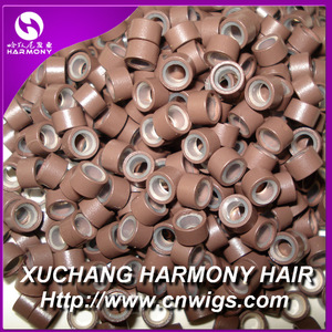 New style silicone micro rings tubes for hair extensions
