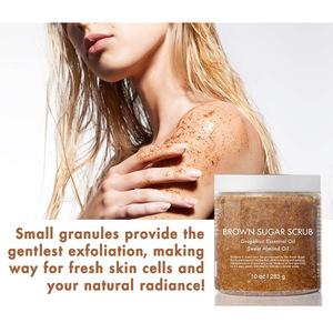 Private Label Exfoliating Skin Care Brown Sugar Body Scrub