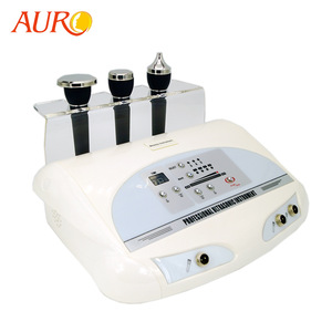 Pro 3 Mhz or 1 Mhz ultrasound body and face massage facial anti-aging beauty equipment Au-8205