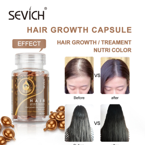 Professional Salon Super Smooth Hair Oil Serum Capsule