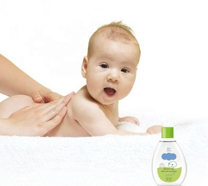 Rich And Nourishing Baby Body Oil 0+ Months With Herbal Extracts Baby Skin Care Dermatologically Tested