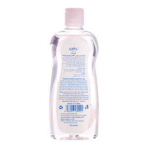 SHOFF 300ML Baby Oil, Mineral Oil Enriched With Shea & Cocoa Butter to Prevent Moisture Loss, Hypoallergenic
