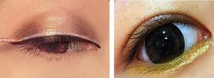 Wholesale cosmetics make up no brand waterproof glitter colorful brightening liquid eyeliner