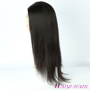 Wholesale Cuticle Aligned Unprocessed Brazilian Baby Hair Virgin Human Hair Full Lace Wig