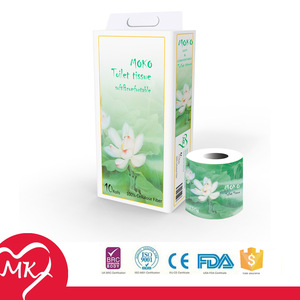 100% virgin wood pulp fragrance unbleached custom printed facial pocket size serviette tissue