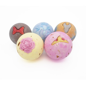 Custom private label Handmade Bath Bombs Fizzy for home spa