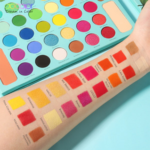 Docolor Y3407 big cosmetics makeup matte eyeshadow palette