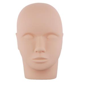 female head makeup training silica gel mannequin head model manikin head for make up training