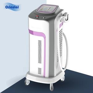 medical laser equipment/nd yag long pulse laser/vertical hair removal laser machine price