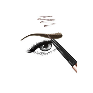 Natural waterproof eyebrow makeup  pencil