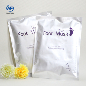 OEM Foot Care Pack Skin Care Products Foot Peel Spa Exfoliating Foot Mask