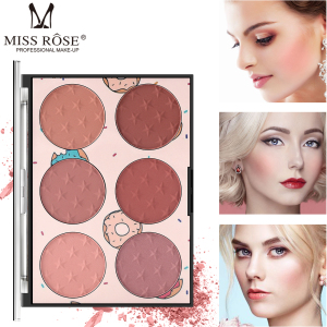 Perfect Facial Cosmetics Blusher Face Red Powder custom Makeup private label Blush Palette