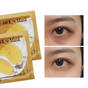 Private Label Gold Crystal Collagen Anti-wrinkle, Anti Aging Mask Eye Patch Eye Mask