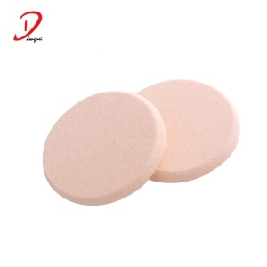 Round super soft NBR Makeup cosmetic sponge puff free samples